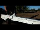 Electromagnetic Plasma Rifle Test Fire