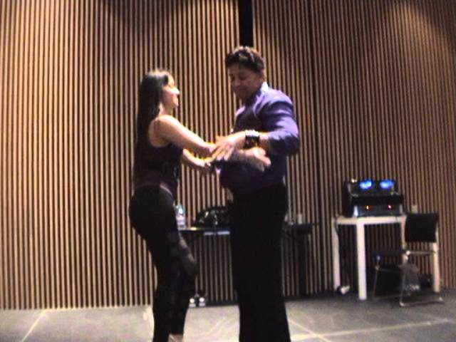 Eddie Torres Shani Talmor - ON2 partnerwork with music
