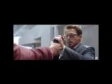 Chris Evans, Robert Downey jr./ Captain America, Iron Man/ civil war [ vine ]
