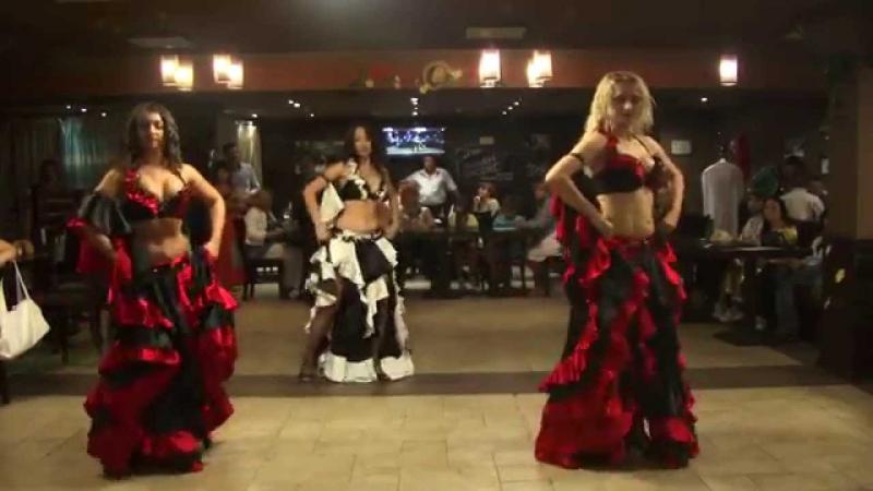 DanceDeluxe и Dragonfly. Granada табла в стиле Aspani Raqs - TV shans