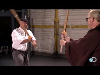 MythBusters - Уроки боя на световых мечах