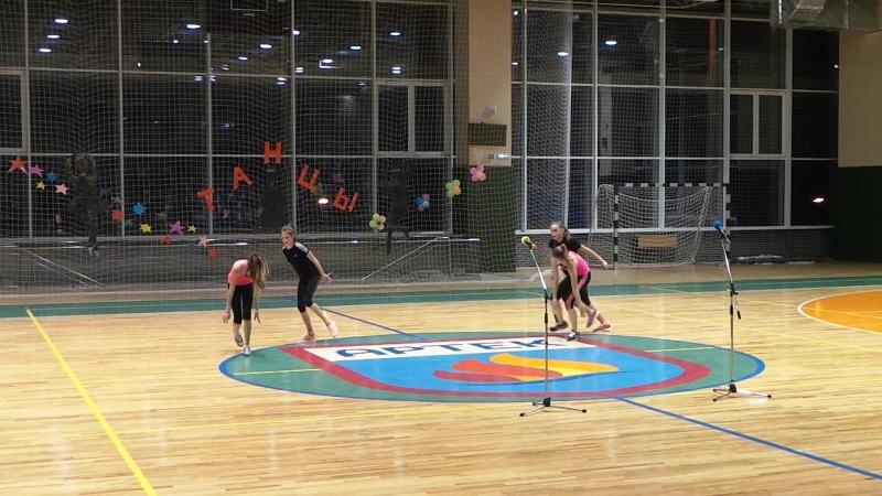 Танцевальный марафон, Артек, лагерь Хрустальный, 13 смена, 2015 год, гимнастический номер Труп невесты