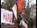 Русский Марш 2015 Кёнигсберг. Крев Лютый
