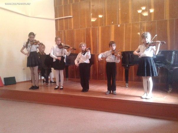 В Зеленчукской детской школе искусств состоялся концерт «Звуки музыки»