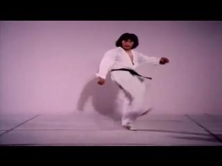 Техника Хванг Джанг Ли. Мощные удары ногами. Тхэквондо