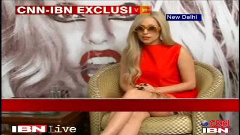 2011 Lady Gaga > Autres ITW - CNN IBN India (Gagavision.net)