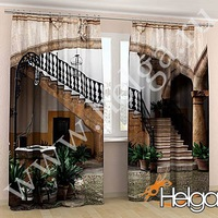 фото шторы с 3д рисунком