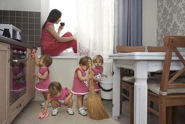 Мечта каждой мамы : (1 фото) - картинка