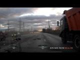 Столкновение при перестроении - ДТП в Самаре 9.12.2015  группа: http://vk.com/avtooko сайт: http://avtoregik.ru Предупрежден зна