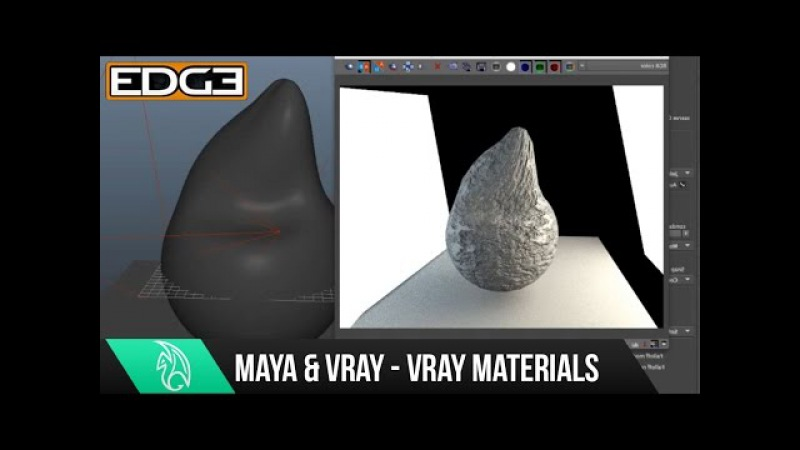 04 VRAY for Maya Rendering Tutorial Series for Beginners - Vray Materials