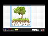 Mr. Pixel Art v1.3 #3 программа для рисования пиксельных артов (За святые деревья!)