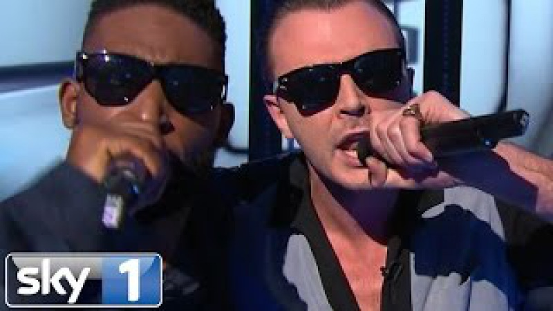Tinie Tempah and Theo Hutchcraft Perform Men In Black | Bring The Noise