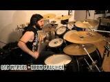 Black Death Metal Drummer - New Gor Morgul song