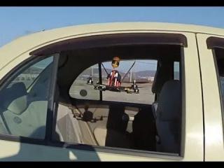 zmr250 сквозь автомобиль