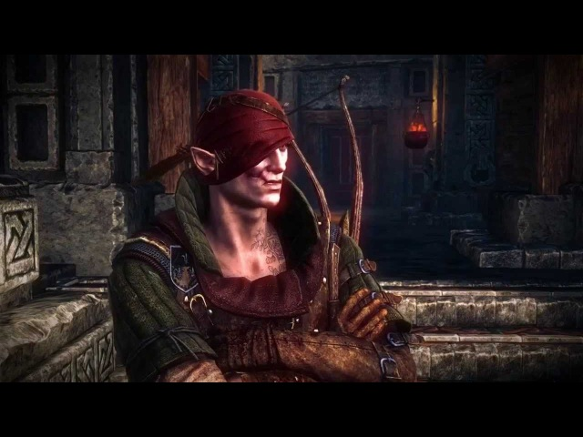 The Witcher 2 - Best of Iorveth the Aen Seidhe (Compilation of cutscenes - no gameplay!)
