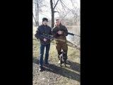 пристрел пневматики хатсан 44-10 и хатсан 125 по воде