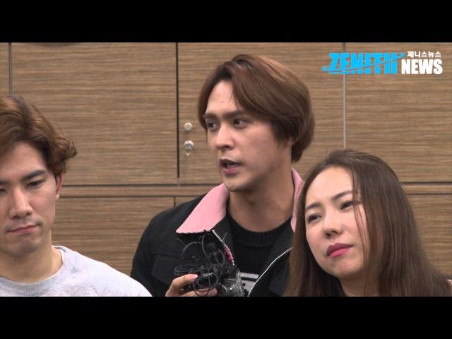 [제니스1열중앙석] MUSICAL '위대한 캐츠비 RE:BOOT' 손동운, '비스트(BEAST) 멤버들에게 자46993