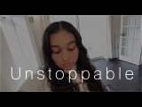 Sia - Unstoppable Acoustic Cover (Lyrics in CC)