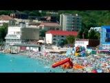 Черное море село ольгинка  пляж 2013