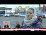Один из оживленных перекрестков Алматы поменял правила для пешеходов и водителей (30.11.15)