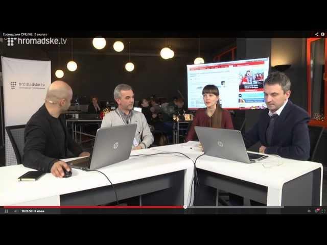 Шарій VS Скрипін на Громадське ТВ