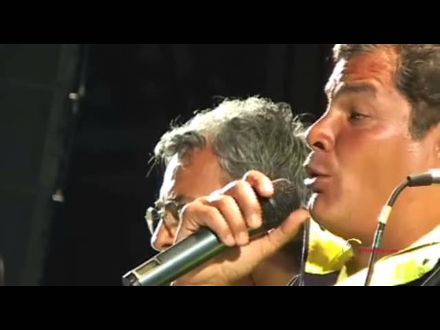 Rafael Correa y Quilapayun, El pueblo Unido jamás será vencido. TODO 35 Venceremos! Ene 17, 2013