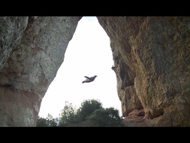 Unbelievable Wingsuit Cave Flight! Batman Cave, Alexander Polli