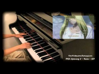 Rain SID - FMA Brotherhood OP 5 - Piano
