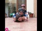 Упражнения с детьми! Просто шикарно!