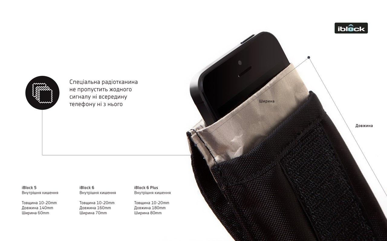 Другие - Украина: Легальная глушилка GSM связи - чехол iblock