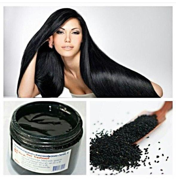 Черная маска для волос из тайланда