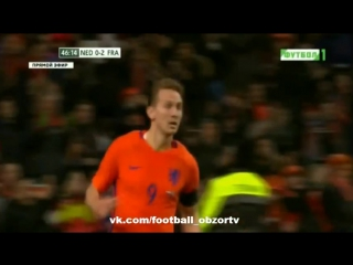 Нидерланды 2:3 Франция   Товарищеский матч 2016   Обзор матча