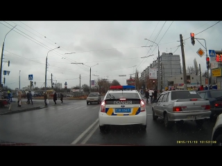 Черный бумер VS Новая полиция