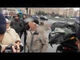 Нах#я вы меня выгоняете?! Сепаратистке из Киева вручали ключи от квартиры в Луганске