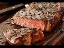 Как приготовить настоящий поджаристый стейк, мастер класс от шеф повара
