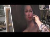 УРОКИ ИГОРЯ САХАРОВА ,ПОРТРЕТ ПОЛНЫЙ РАЗБОР, основы портрета маслом