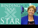 The Binding Tool Star Quilt Easy Quilting Tutorial with Jenny Doan of Missouri Star Quilt Co