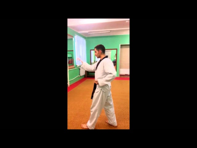Taekwondo WTF. 2 Пхумсэ Тэгук И Джан.