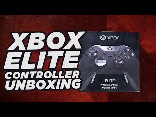 Xbox Elite Controller Unboxing