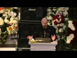 Rob Halford's speech at Lemmy's funeral 9116