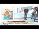 Britto Júnior machuca o saco ao vivo no Programa da Tarde na Record