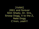 Eminem, Dr Dre, Xzibit, Nate Dogg and Snoop Dogg - Bit Please II - Lyrics