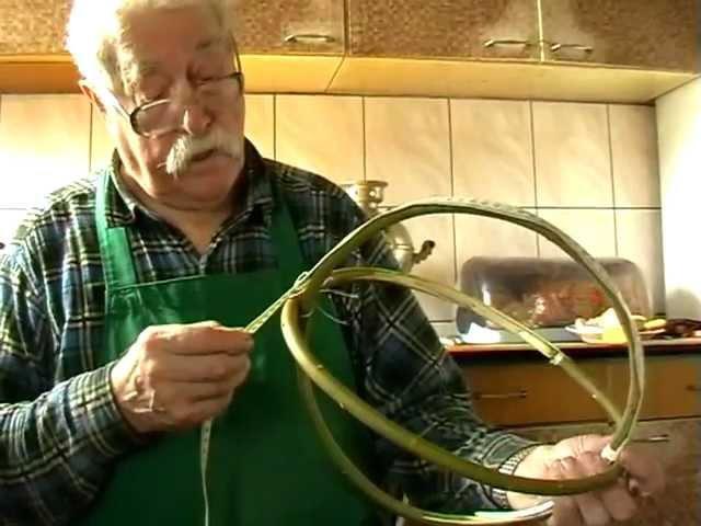 Jak powstają koszyki Mieczysław Gajlewski z Radziej 23 03 2012r 1 23 godz m2p