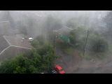 В Курске после сильного дождя оказались практически полностью затоплены несколько районов - Первый канал