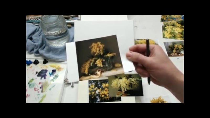 Оксана Сансон из Франции - цветы