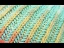 Двухцветная патентная резинка резинка бриошь по кругу