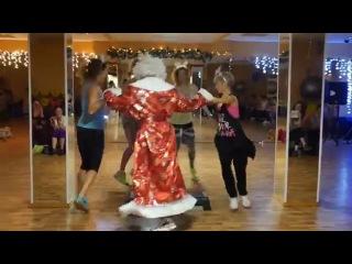 Fitness House на Чкаловской. 26.12 2015. Танец тренеров.