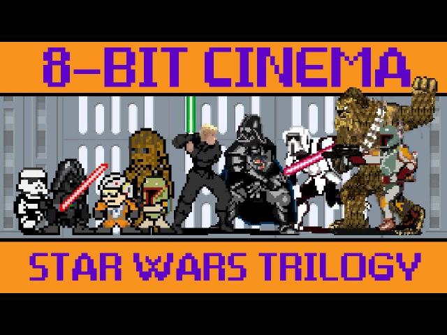 Star Wars Original Trilogy - 8 Bit Cinema🎥