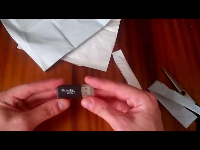 №8 Wholesale Cheap Black Portable Mini 32GB USB 2.0 Micro SD/TF Adapter Card Reader