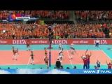 Женская сборная России по волейболу второй раз подряд выиграла Чемпионат Европы